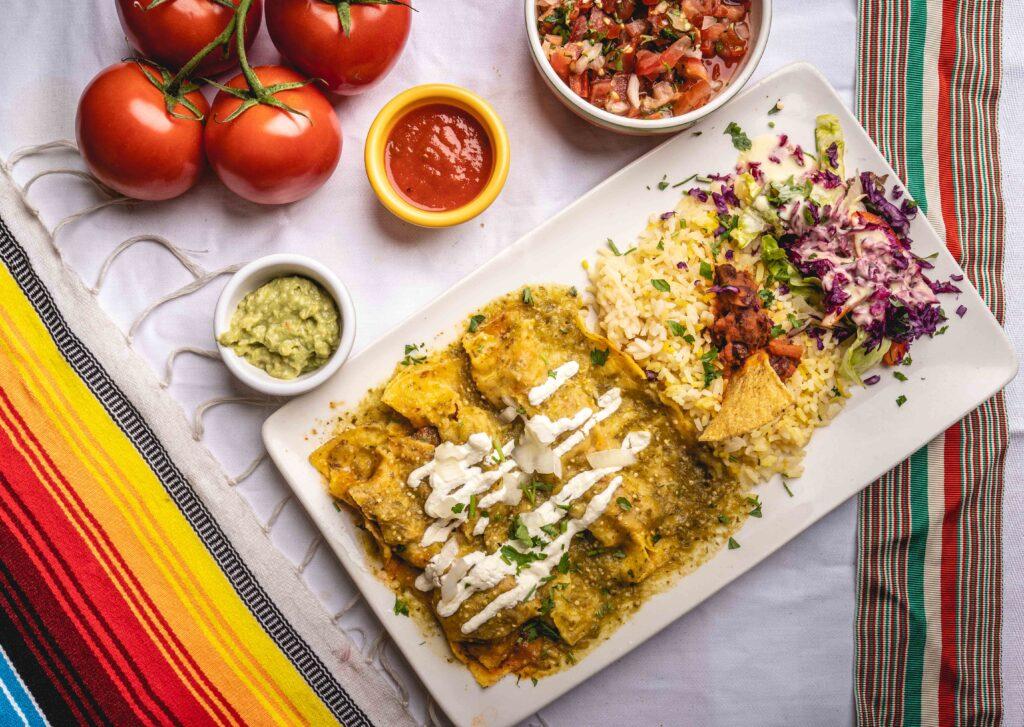Enchilada Verde 3